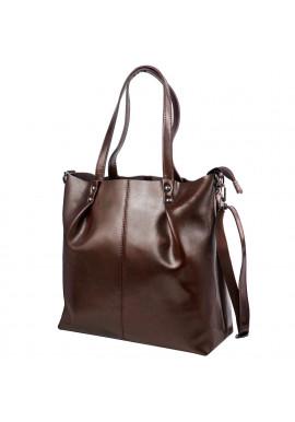Фото Женская кожаная сумка ETERNO 2020-10 BRN