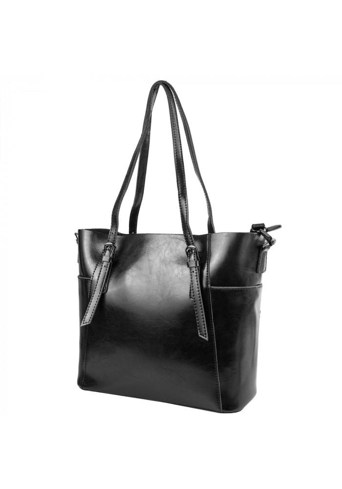 Фото Кожаная женская сумка ETERNO 2022-2 BLK