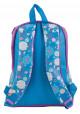 Синий подростковый рюкзак с прикольным рисунком YES WEEKEND