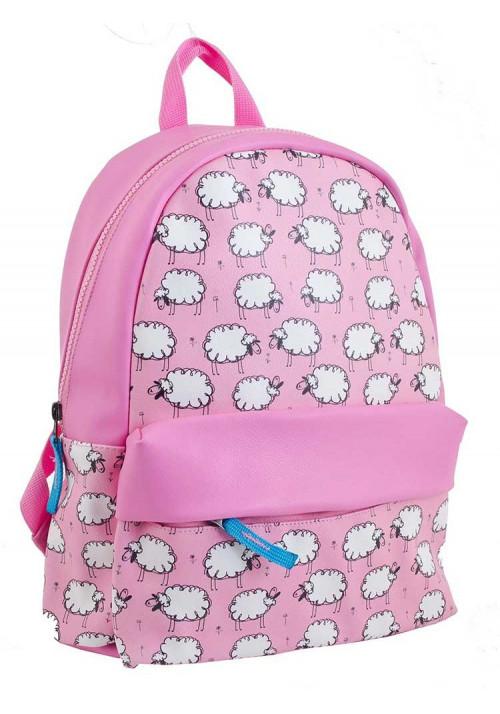 Розовый рюкзак с овечками YES WEEKEND