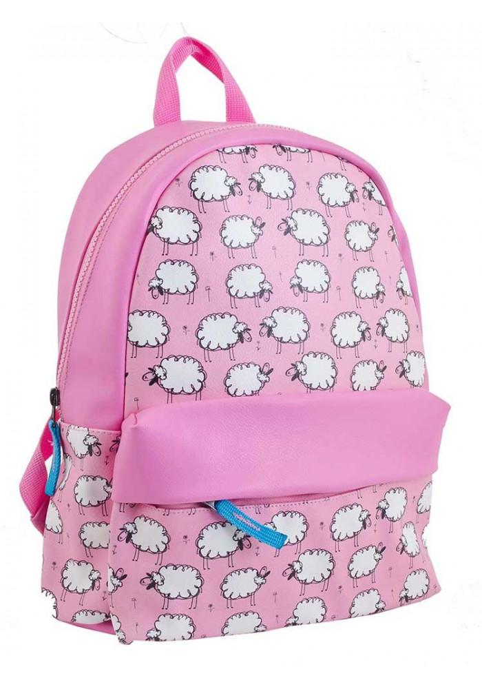 Фото Розовый рюкзак с овечками YES WEEKEND