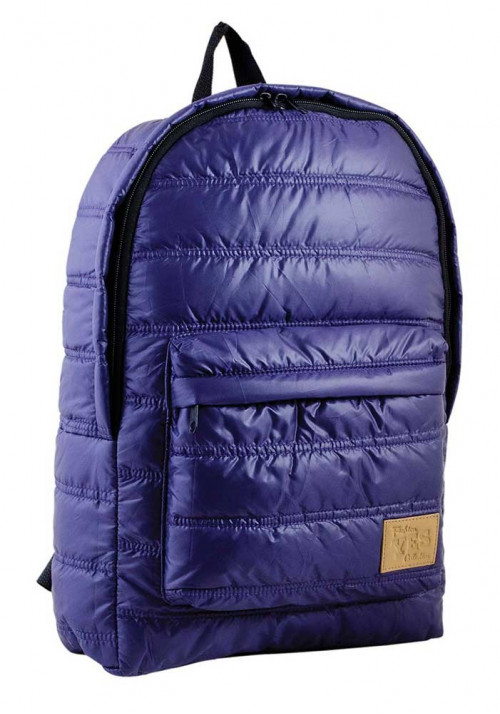 Дутый сиреневый молодежный рюкзак YES OXYGEN