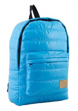 Фото Дутый голубой молодежный рюкзак ST-15 YES OXYGEN