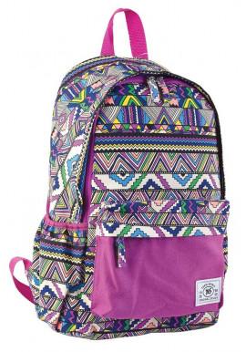 Фото Сиреневый молодежный рюкзак YES ST-15 Ethnos