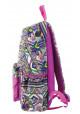 Сиреневый молодежный рюкзак YES ST-15 Ethnos, фото №3 - интернет магазин stunner.com.ua