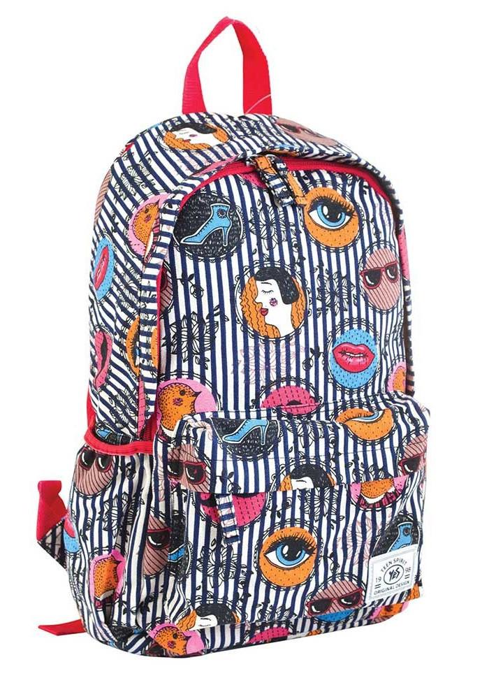 Фото Модный молодежный рюкзак YES ST-15 Face