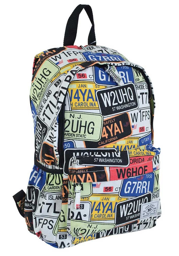 Модный молодежный рюкзак YES ST-15 Garage