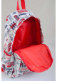 Модный светлый молодежный рюкзак YES ST-15 London