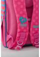 Каркасный школьный рюкзак для девочки H-11 Barbie rose
