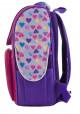 Каркасный школьный ранец для девочки H-11 EAH purple