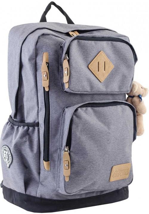 Серый городской рюкзак серии Oxford YES OX 190