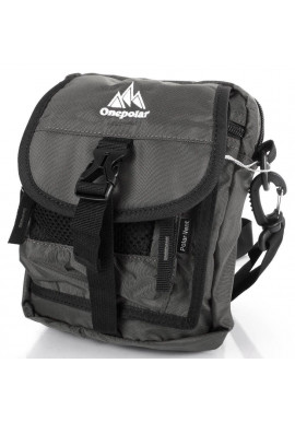 Фото Мужская сумка на плечо тканевая ONEPOLAR W3088-grey