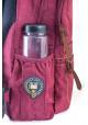 Бордовый городской рюкзак серии Oxford YES OX 194, фото №5 - интернет магазин stunner.com.ua