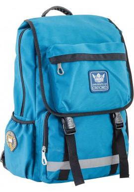 Фото Бирюзовый городской рюкзак серии Oxford YES OX 228