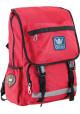 Красный городской рюкзак серии Oxford YES OX 228 - интернет магазин stunner.com.ua
