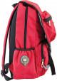 Красный городской рюкзак серии Oxford YES OX 228, фото №2 - интернет магазин stunner.com.ua