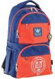 Сине-оранжевый городской рюкзак серии Oxford YES OX 233