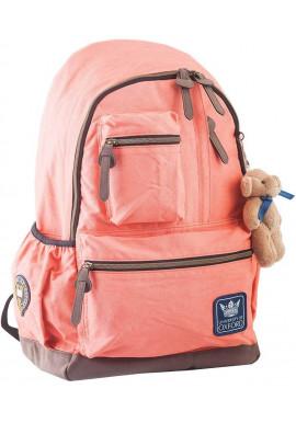 Фото Персиковый подростковый рюкзак серии Oxford YES OX 236