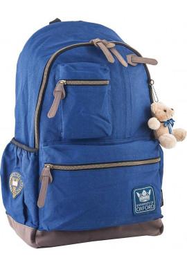 Фото Синий подростковый рюкзак серии Oxford YES OX 236