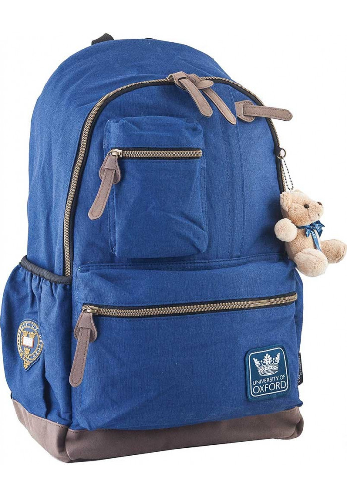 Синий подростковый рюкзак серии Oxford YES OX 236