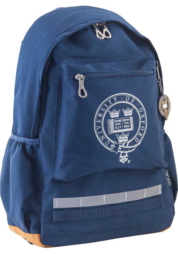Синий комбинированный городской рюкзак серии Oxford YES OX 275