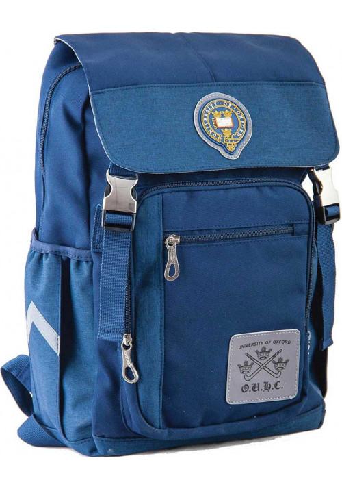 Синий тканевый городской рюкзак серии Oxford YES OX 283