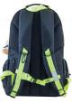 Черный уплотненный городской рюкзак серии Oxford YES OX 290