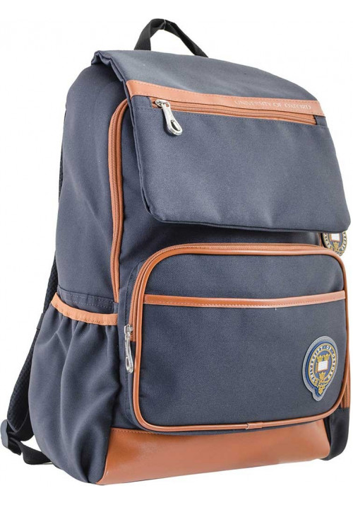 Серый рюкзак подростковый серии Oxford YES OX 293