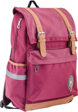 Фото Бордовый подростковый рюкзак серии Oxford YES OX 301