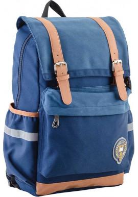 Фото Синий подростковый рюкзак серии Oxford YES OX 301