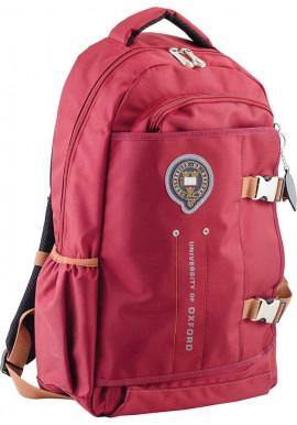 Фото Бордовый подростковый рюкзак серии Oxford YES OX 302
