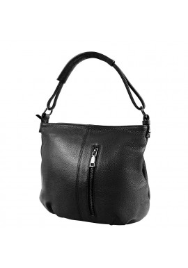 Фото Кожаная женская сумка VITO TORELLI VT-8317-black