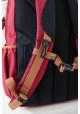 Бордовый подростковый рюкзак серии Oxford YES OX 302, фото №4 - интернет магазин stunner.com.ua