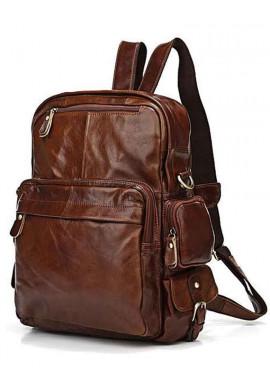 Фото Рюкзак кожаный с ручками Tiding Bag 7007C