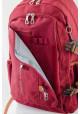 Бордовый подростковый рюкзак серии Oxford YES OX 302, фото №8 - интернет магазин stunner.com.ua