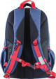 Синий подростковый рюкзак серии Oxford YES OX 302, фото №3 - интернет магазин stunner.com.ua