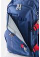 Синий подростковый рюкзак серии Oxford YES OX 302, фото №7 - интернет магазин stunner.com.ua