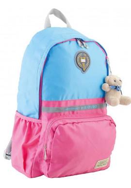Фото Розово-голубой подростковый рюкзак серии Oxford YES OX 311