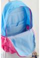 Розово-голубой подростковый рюкзак серии Oxford YES OX 311