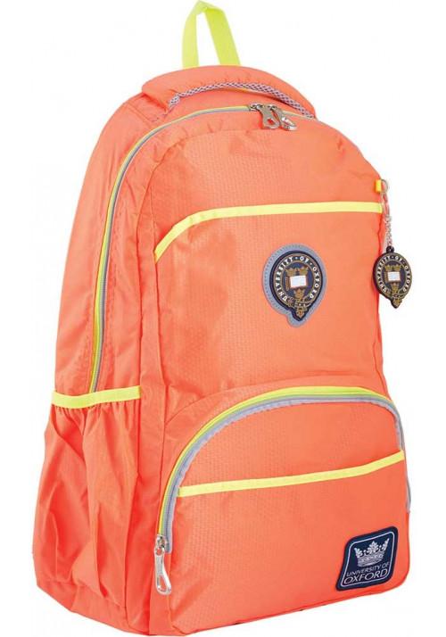 Оранжевый подростковый рюкзак серии Oxford YES OX 313