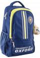 Синий подростковый рюкзак для мальчика серии Oxford YES OX 315 - интернет магазин stunner.com.ua