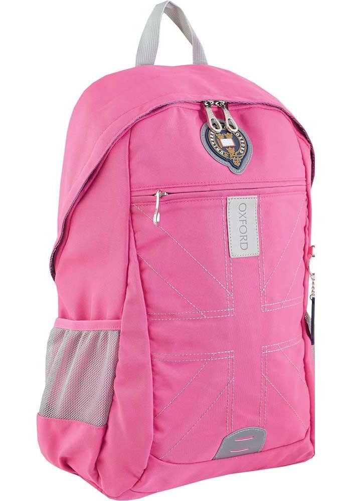 Розовый подростковый рюкзак для девочки серии Oxford YES OX 315
