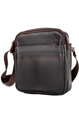 Фото Кожаная мужская сумка на плечо ETERNO RB-M38-1025C