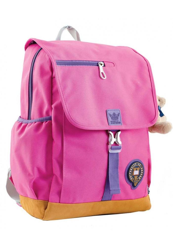 Розовый подростковый рюкзак для девочки серии Oxford YES OX 318