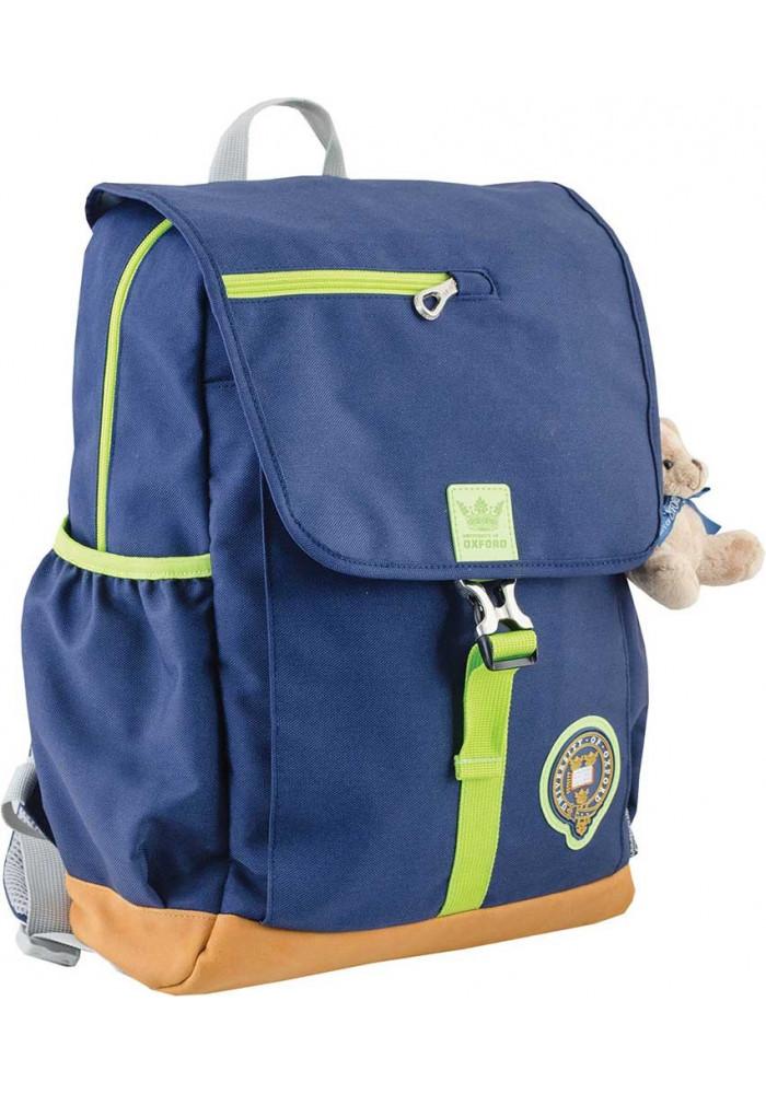 Синий подростковый рюкзак для девочки серии Oxford YES OX 318
