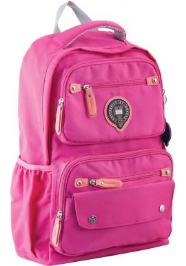 Фото Розовый подростковый рюкзак для девочки серии Oxford YES OX 323
