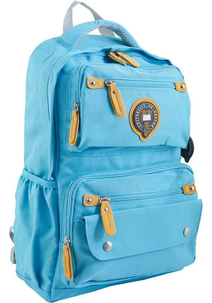 Голубой молодежный рюкзак серии Oxford YES OX 323