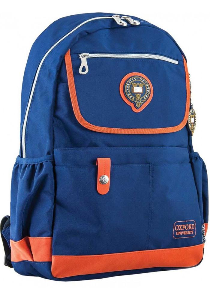 Синий молодежный рюкзак серии Oxford YES OX 324