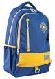 Синий подростковый рюкзак с желтой вставкой серии Oxford YES OX 331