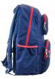 Темно-синий вместительный подростковый рюкзак серии Oxford YES OX 334, фото №2 - интернет магазин stunner.com.ua